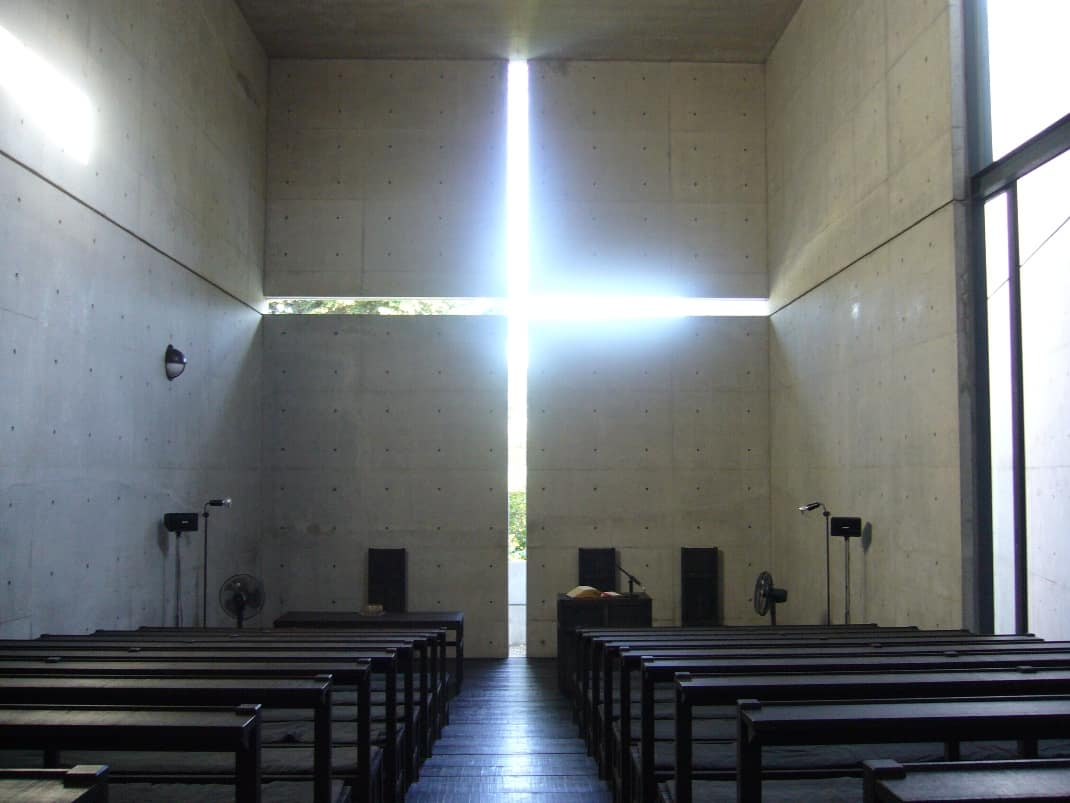 Ibaraki Kasugaoka Church Light Cross